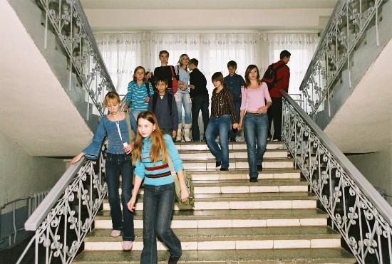 Лестницы в школах