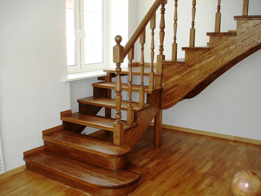 Заказать буковую лестницу