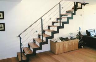 Как выбрать место для установки лестницы на металлокаркасе?