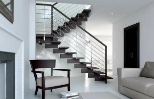 Выбираем красивое и удобное ограждение для лестницы