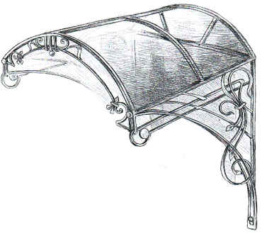 кованое крыльцо